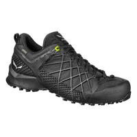 SALEWA WILDFIRE GTX MEN'S APPROACH SHOE BLACK OUT/SILVER