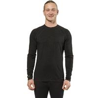 XTM MERINO MENS L/S TOP BLACK