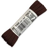 TOBBY LACES FLAT - BROWN 160CM
