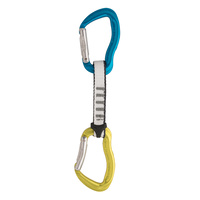 AUSTRI ALPIN ROCKIT QUICKDRAW 11CM SET OF 5 - YELLOW/BLUE